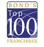 Bond's Top 100 Franchises award winner logo